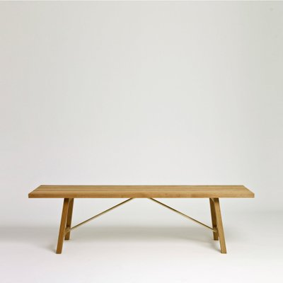 Prime Oak Outdoor Bench Two By Another Country Gmtry Best Dining Table And Chair Ideas Images Gmtryco