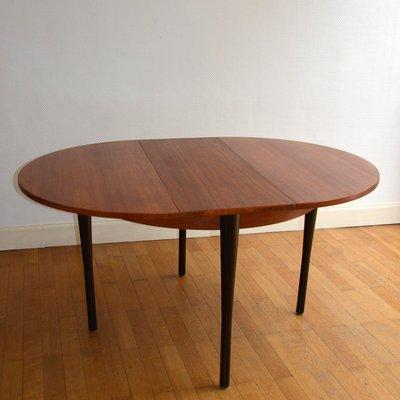 Tavolo da pranzo rotondo, anni \'60 in vendita su Pamono
