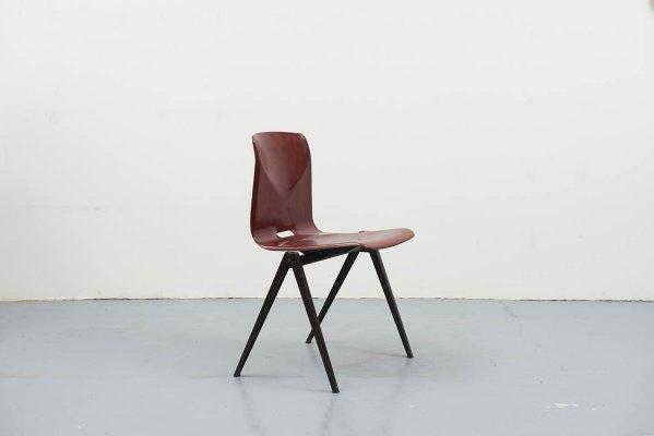 Brauner Vintage S22 Stuhl Aus Mahagoni Von Galvanitas Bei Pamono Kaufen