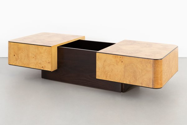 Prime Burlwood Coffee Table By Henredon Furniture 1970S Inzonedesignstudio Interior Chair Design Inzonedesignstudiocom