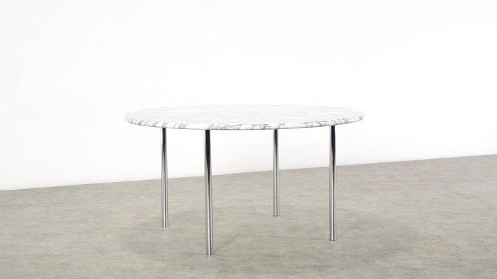 Table A Manger Marbre.Table De Salle A Manger En Marbre De Carrare Par Estelle Erwin Laverne Pour Laverne International 1950s