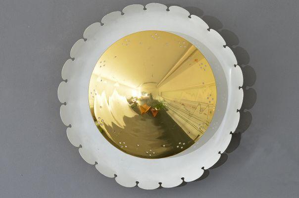Applique rotonda di kaiser leuchten anni in vendita su pamono