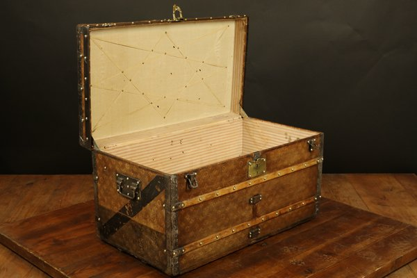 Antique Mail Trunk From Louis Vuitton