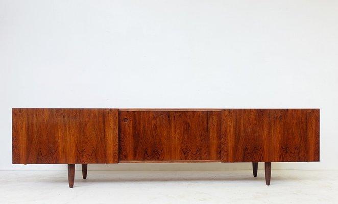 Langes Sideboard langes sideboard von ib kofod-larsen für faarup mobelfabrik, 1960er
