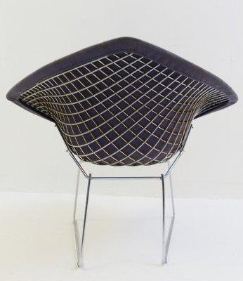 Vintage Diamond Chair By Harry Bertoia For Knoll International 3