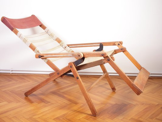 Model 480 Deck Chair From Thonet 1936 1