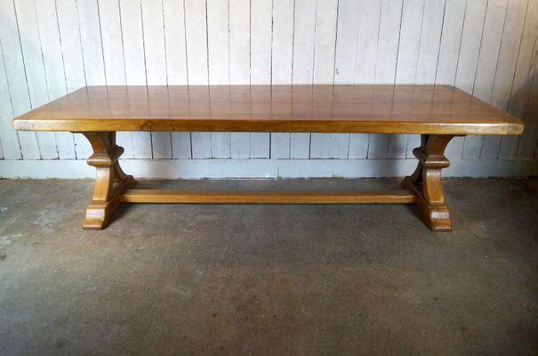 Antiker Esstisch Aus Eiche Bei Pamono Kaufen
