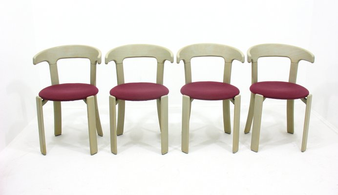 Esszimmerstühle von Bruno Rey für Kusch+Co, 1970er, 4er Set