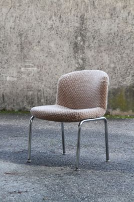 Fantastic Vintage Velvet Waffle Lounge Chair From Mobilier International 1970S Alphanode Cool Chair Designs And Ideas Alphanodeonline