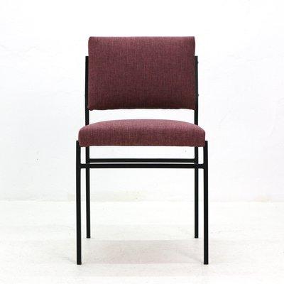 mit Gestell Stahl1960er aus Stuhl röhrenförmigem D29HEWI