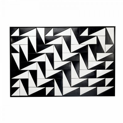 36c32b29951 Tejo Black   White Tiles Panel by Mambo Unlimited Ideas for sale at ...