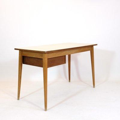 Brilliant Light Wood Laminate Student Desk 1950S Download Free Architecture Designs Embacsunscenecom