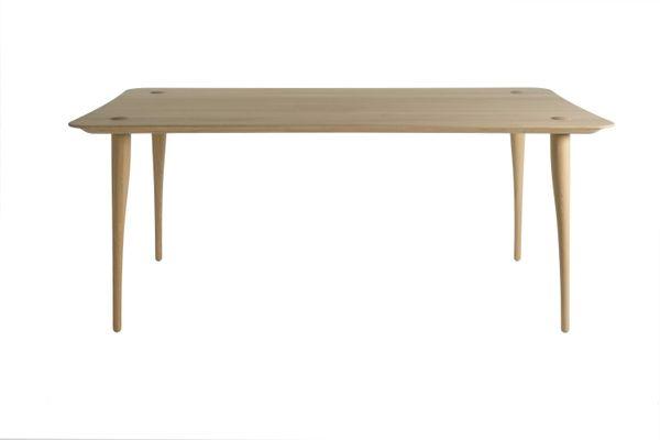 240 Sjoerd Vroonland Lewes en de Revised Table à Chêne Manger par pour Salle Rectangulaire 5R43jLA