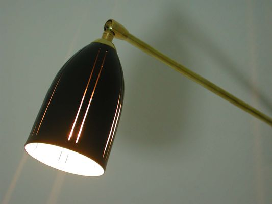 wholesale dealer 8e273 4cca2 French Swivelling Potence Wall Lamp, 1950s
