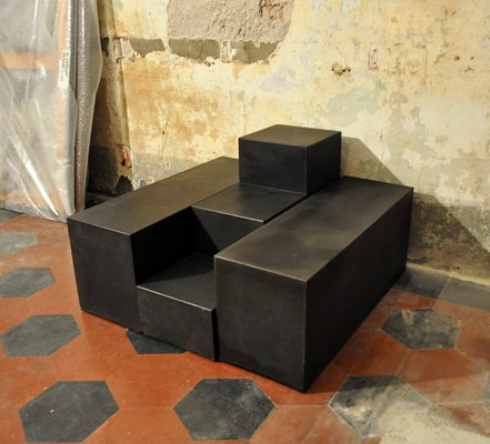 Modulare Scacchi Sofatische von Mario Bellini für B&B Italia, 1960er ...