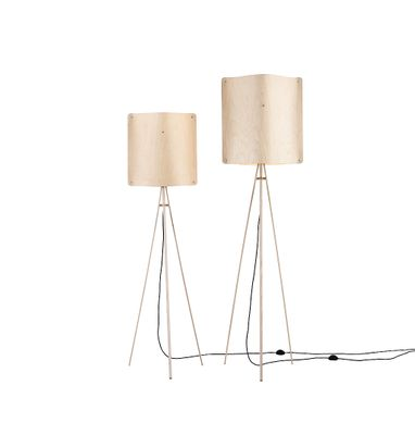 Small Square Floor Lamp By Esa Vesmanen