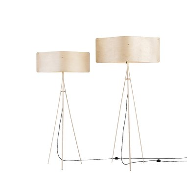 Small Wide Floor Lamp By Esa Vesmanen