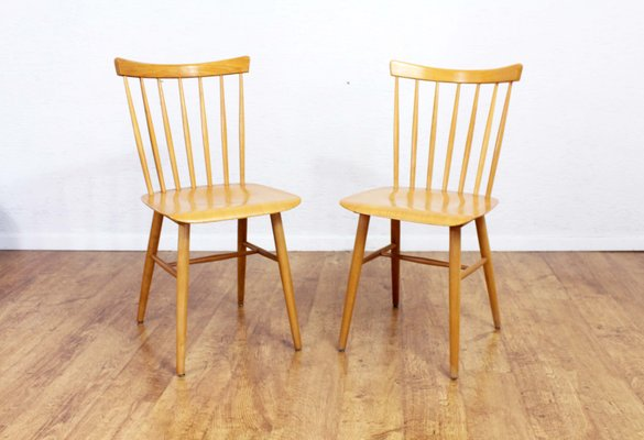 Superbe Scandinavian Dining Chairs, 1960s, Set Of 2