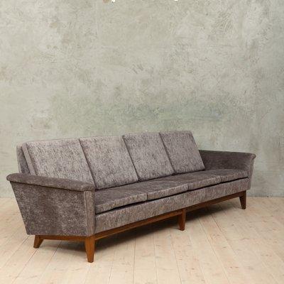 Merveilleux Mid Century Four Seater Sofa