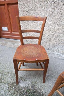 Vintage Wooden Chairs >> Vintage Wooden Chairs 1920s For Sale At Pamono