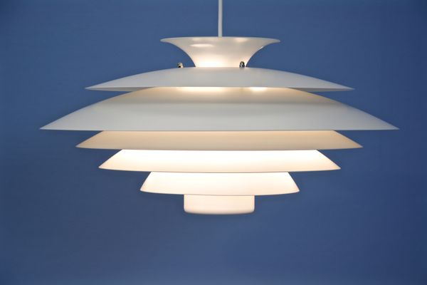 Lampade A Sospensione Vintage : Lampada a sospensione vintage bianca di form light danimarca