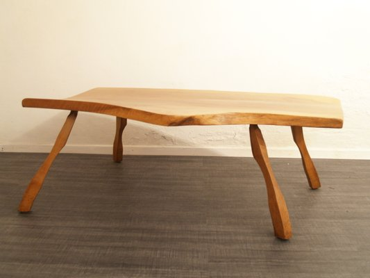 Vintage Wooden Coffee Table 1960s For Sale At Pamono