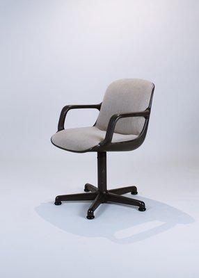 Chaise Pivotante De Bureau Par Charles Pollock Pour Comforto 1984 1