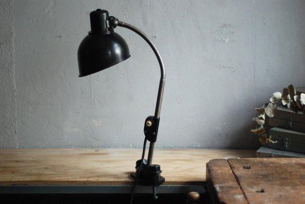 Pince En Jour À Bakélite De Vintage Lampe Helion Avec Abat Noire lKJFc1
