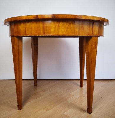 Mesa de comedor estilo Biedermeier, años 50