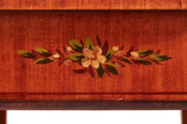 Satin1870s Bois d'Appoint en Antique de Table SzpUVGLMq