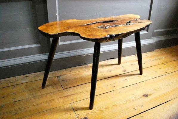 Table Basse Tronc D Arbre Mid Century