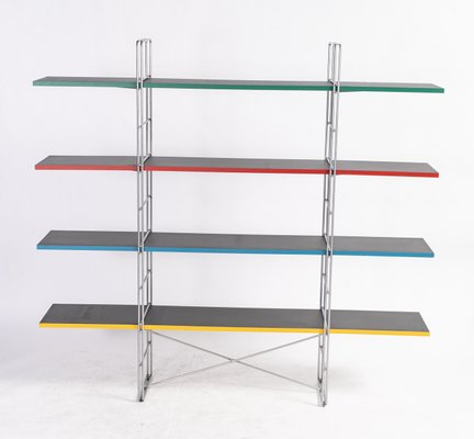 Swedish Guide Shelving Unit By Niels Gammelgaard For Ikea 1980s