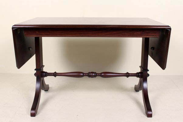 1d00b6b0f168 Vintage Danish Mahogany Extendable Console Table for sale at Pamono