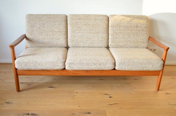 3 Seater Sofa By Juul Kristensen 1960s