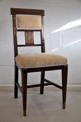 Tavolo e sedie da pranzo vintage, 1928 in vendita su Pamono