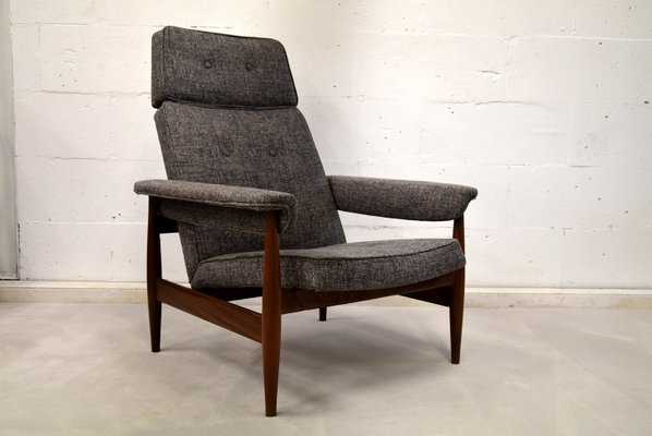 Mid Century Modern Teak Lounge Chair 1960s For Sale At Pamono
