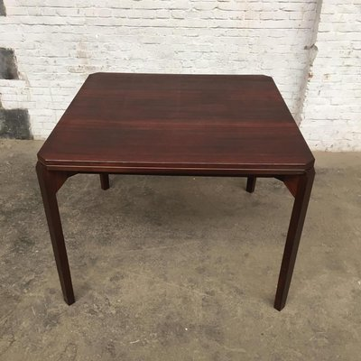 Vintage Italian Rosewood Game Table
