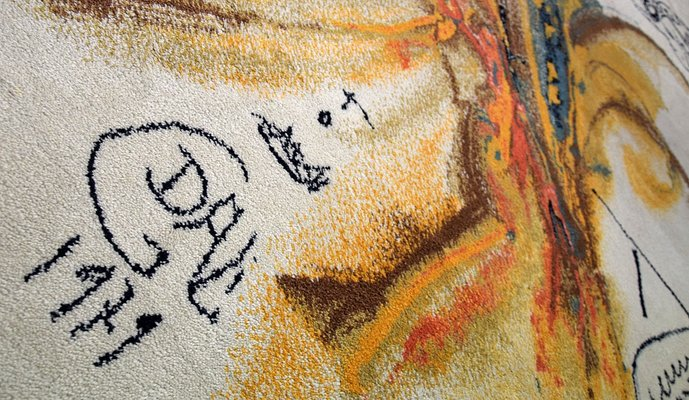 Le Grand Pavon Rug by Salvador Dalí, 1979