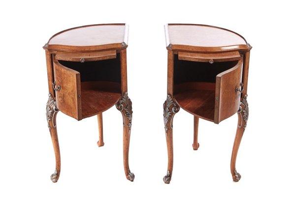 Birdseye Maple Bedside Cabinets 1920s