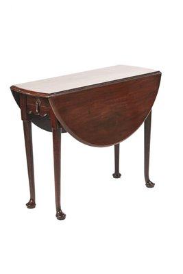 Mesa de comedor abatible George III de caoba en venta en Pamono