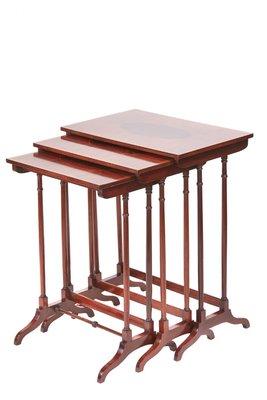 e116b3d9aca01 Edwardian Mahogany Nest of Tables for sale at Pamono
