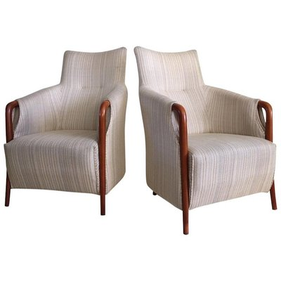 Vintage High Back Armchair For At