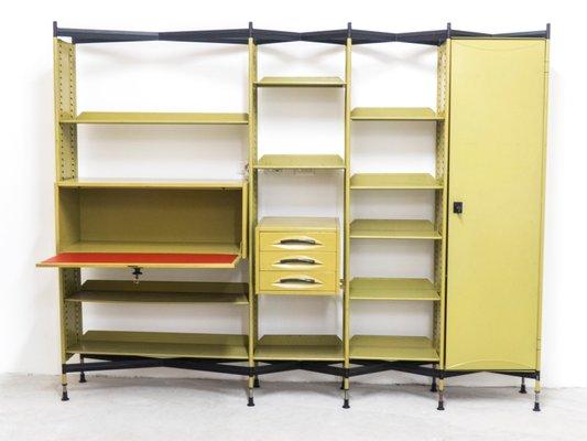Libreria e storage Spazio con cassetti di BBPR per Olivetti ...