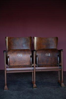 Sedie Da Cinema Vintage.Sedie Da Cinema Nr 62 64 Vintage In Vendita Su Pamono