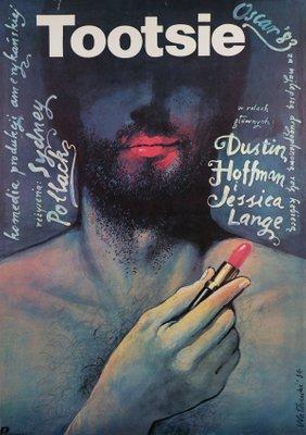 Polish Tootsie Movie Poster By Wieslaw Walkuski 1984 For Sale At Pamono