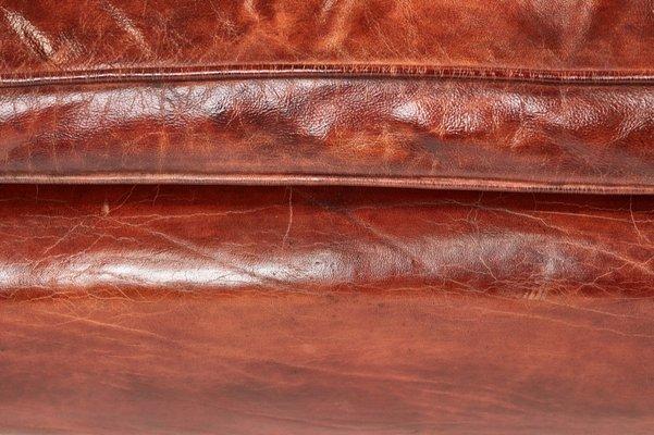 Fabulous Antique Leather Wing Back Library Chair Spiritservingveterans Wood Chair Design Ideas Spiritservingveteransorg
