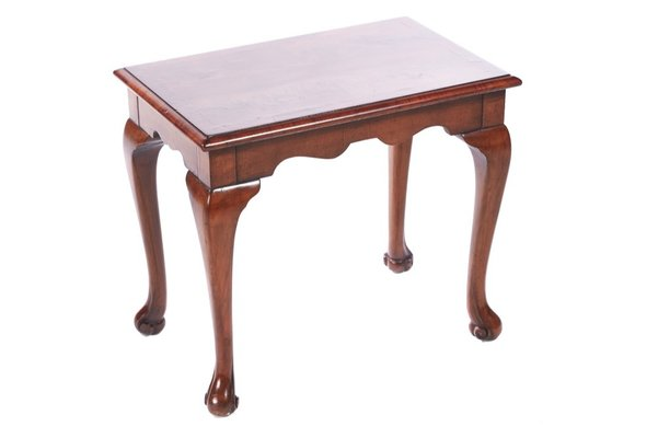 Figured Walnut Coffee Table 1910s