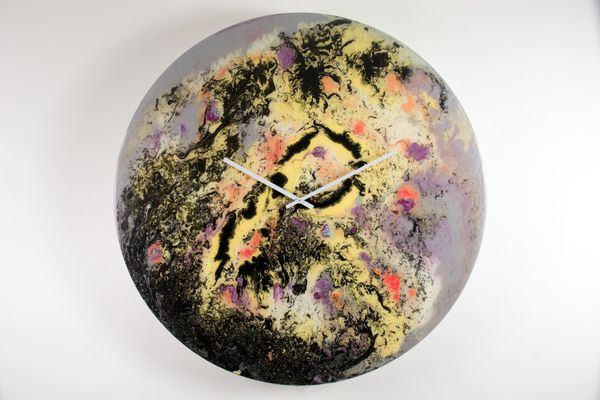 Extra Large Wall Clock With Lighting By Craig Anthony For
