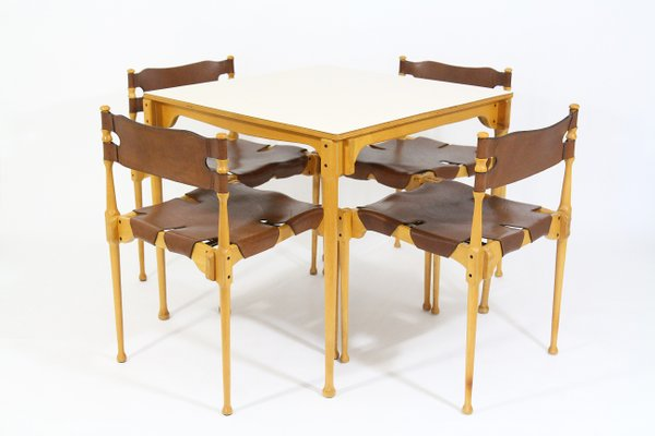 Vintage Model Montreal Dining Set By Frei Otto For Karl Froscher Co 1967