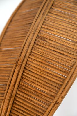 be659c34db12c Wicker Palm Tree Floor Lamp by Mario Lopez Torres